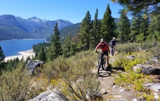 lake como singletrack mountain bike