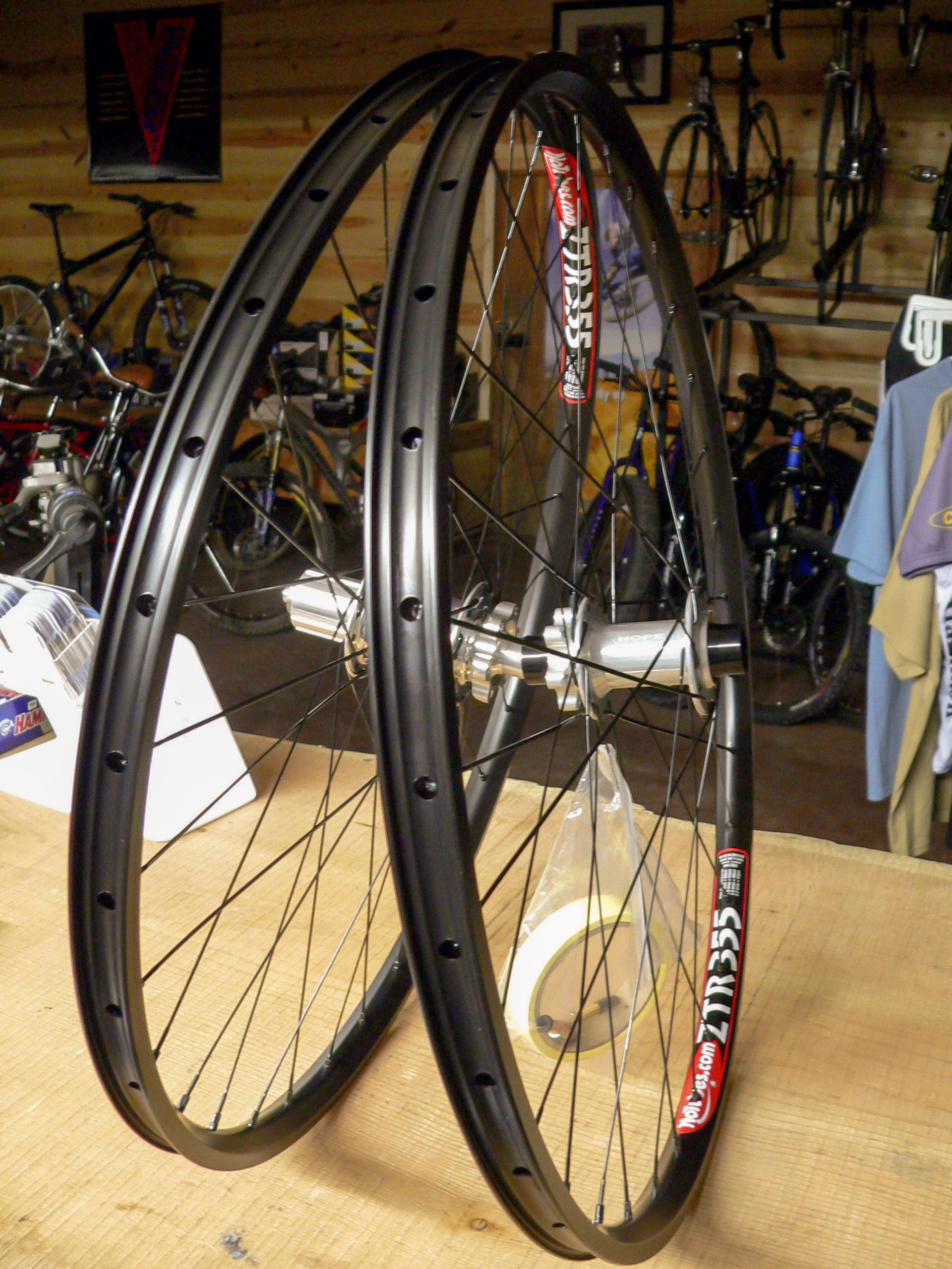 ZTR wheels in a wheelset