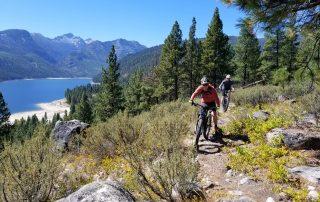 lake como singletrack mountain bike